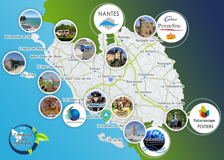 Info carte vendee tourisme - Office du tourisme bretignolles sur mer ...