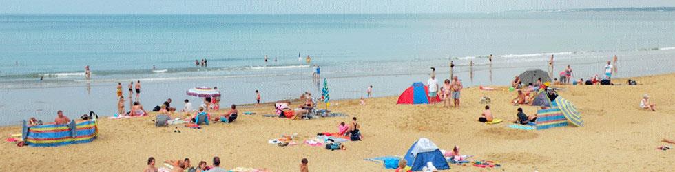 Petit camping familial plage Vendée