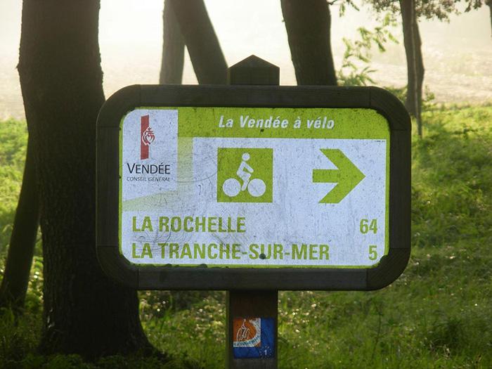 Piste cyclable Vendée