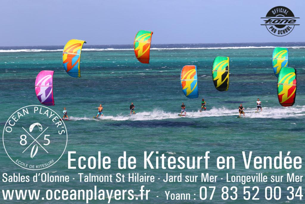 Ecole de kitesurf en vendée