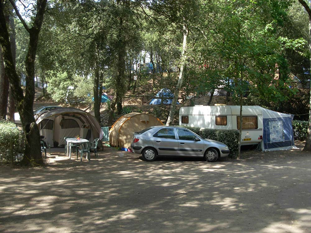 caravane Camping les Ramiers Longeville/mer