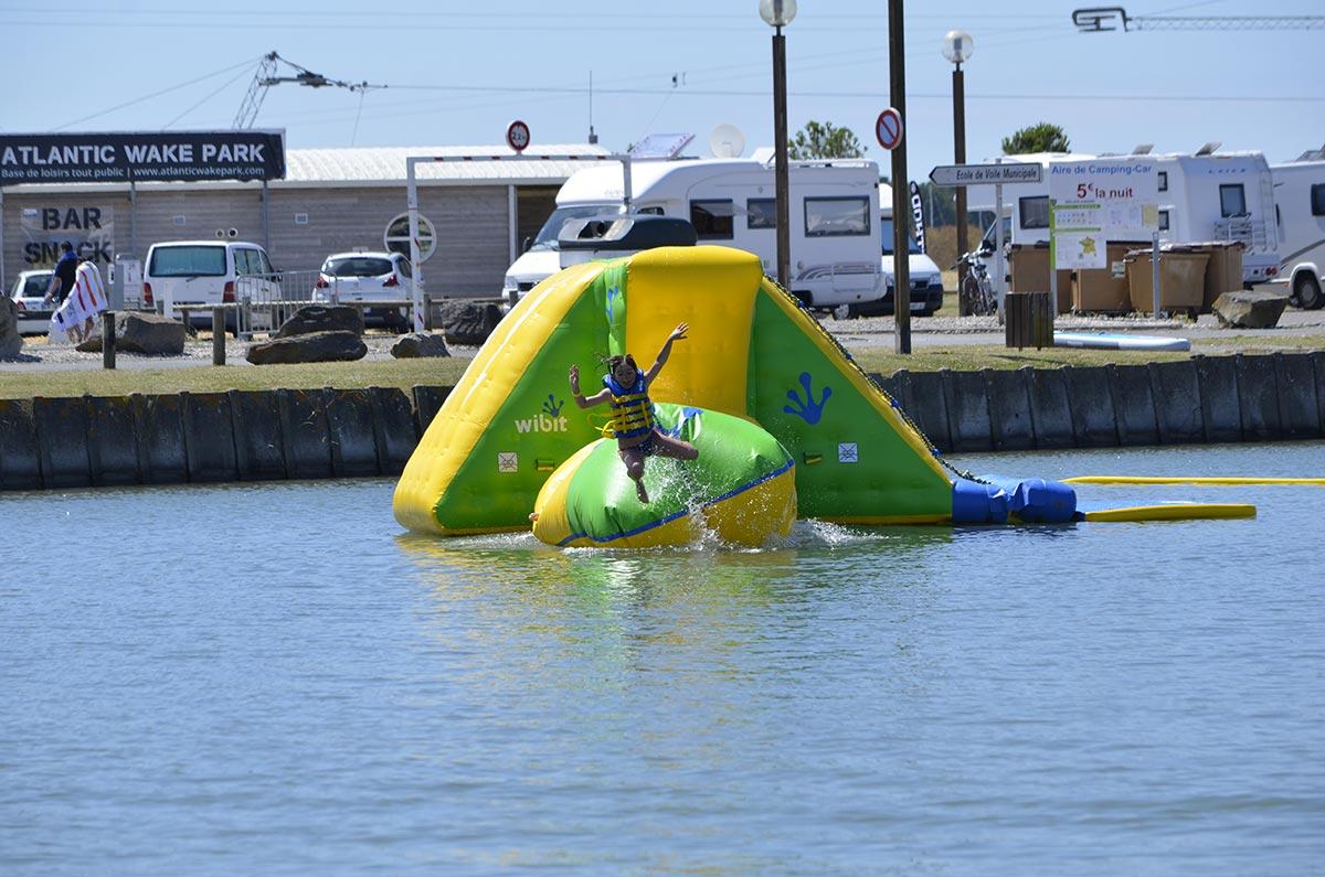 jeux Camping les Ramiers Longeville/mer