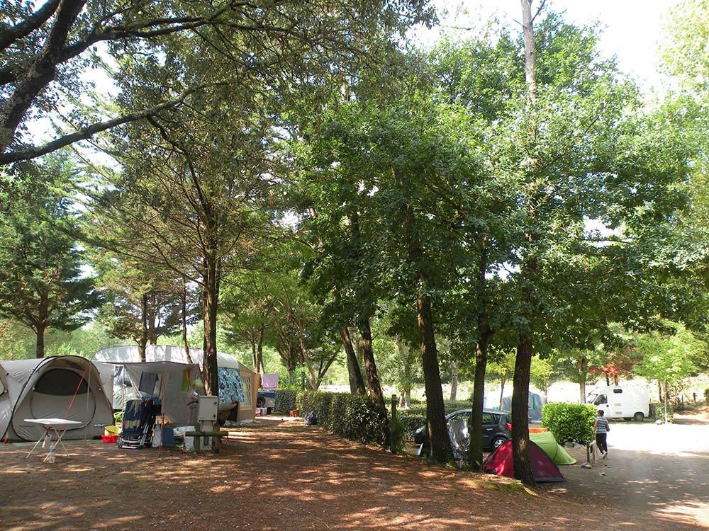 le Camping les Ramiers Longeville/mer