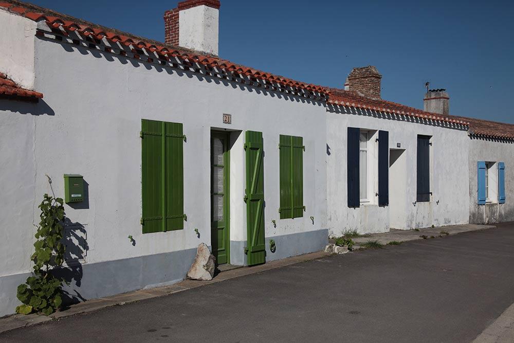 les maisons de noirmoutier