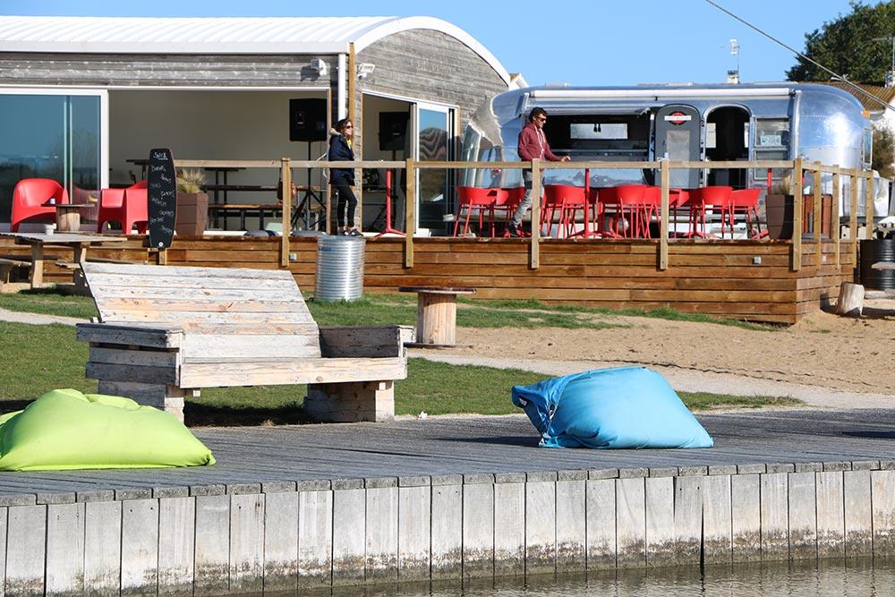 Camping les Ramiers Longeville/mer wake park