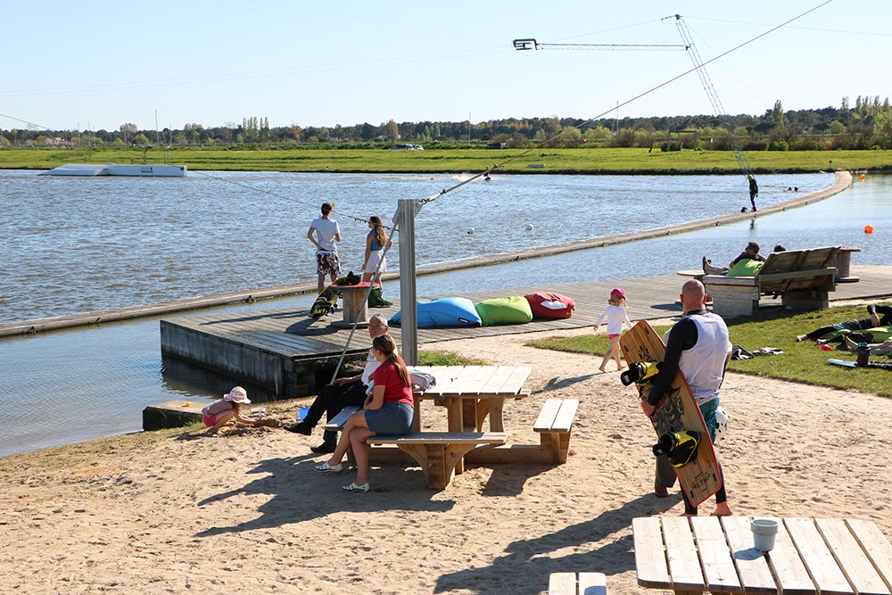 wake park vendée
