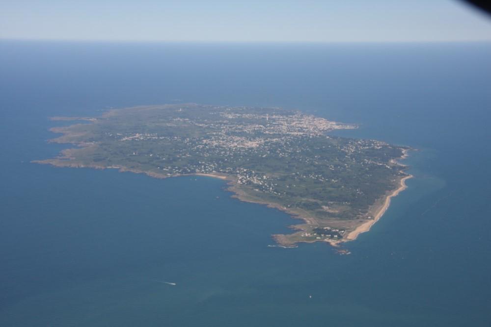 vue de l'ile d'yeu