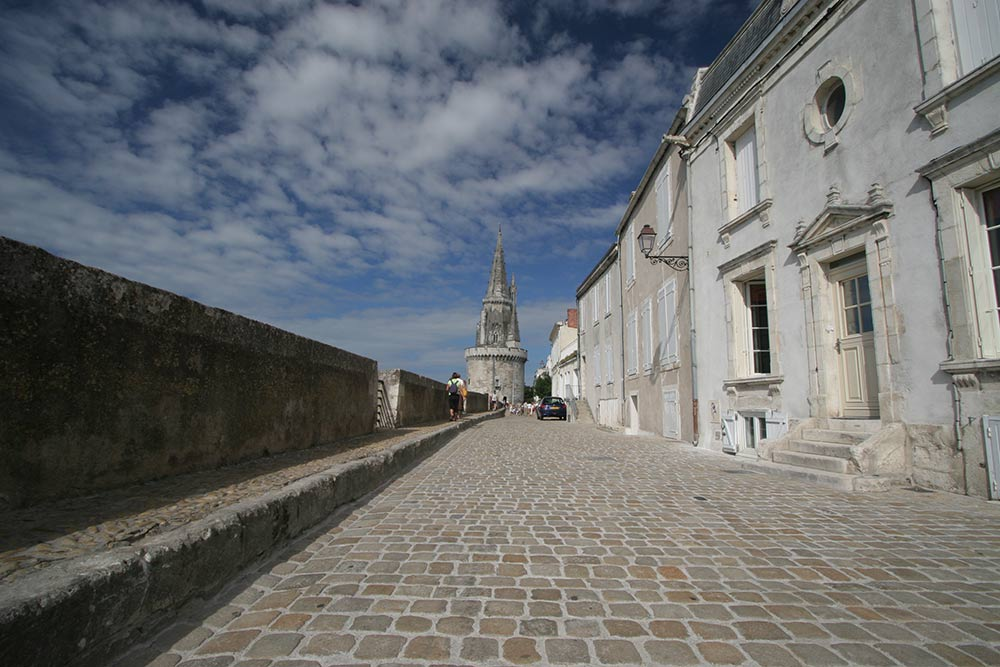 près du port la Rochelle