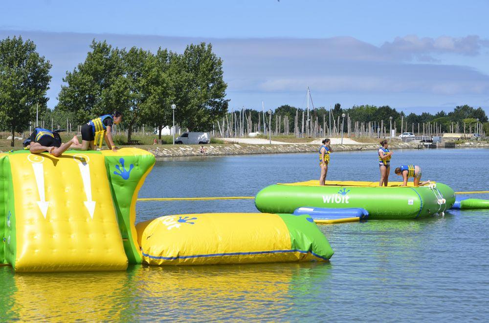 splash game Camping les Ramiers Longeville/mer