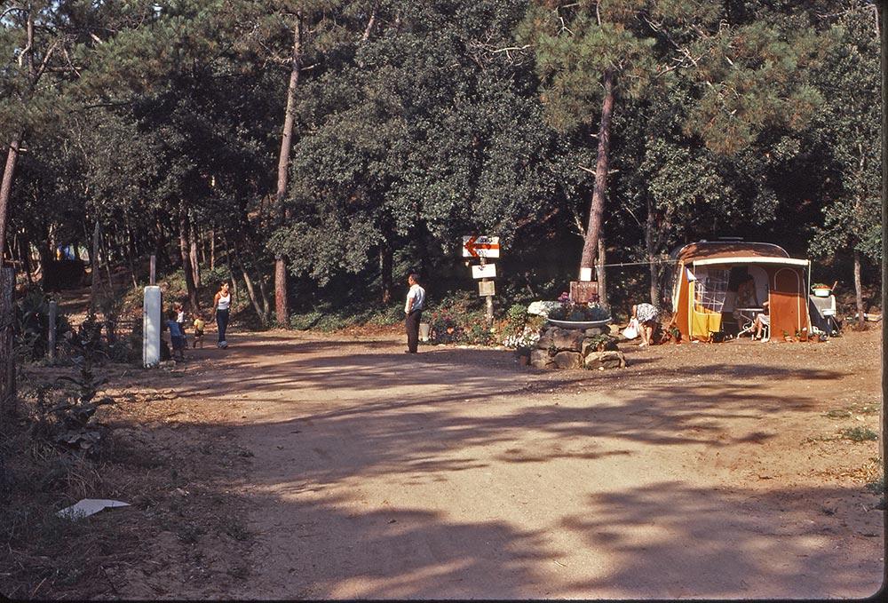 le camping autrefois