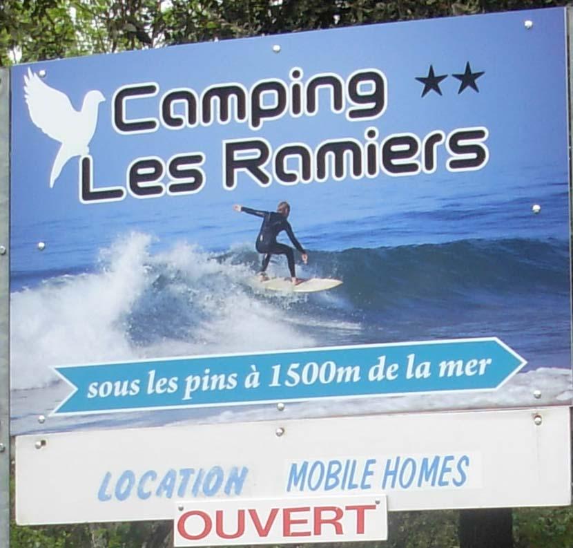 Camping les Ramiers Longeville/mer
