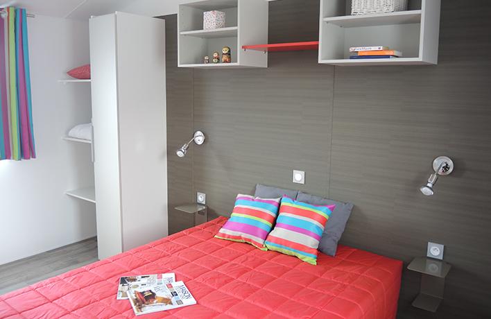 chambre location mobilhome PMR Vendée