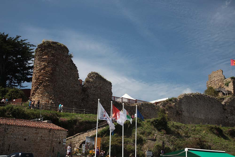 le chateau de Talmont St Hilaire