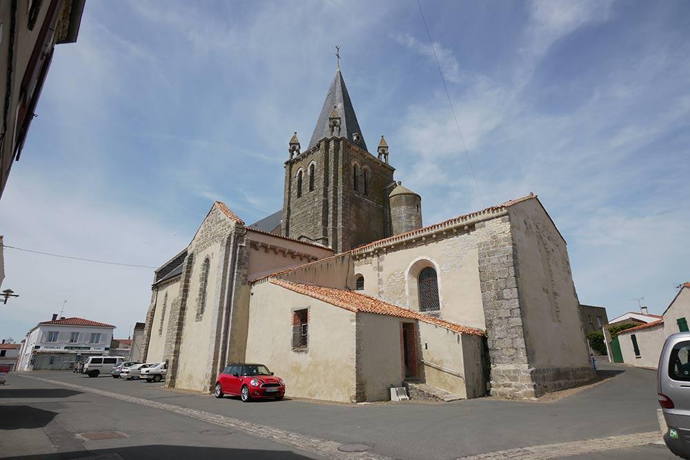 église de longeville sur mer