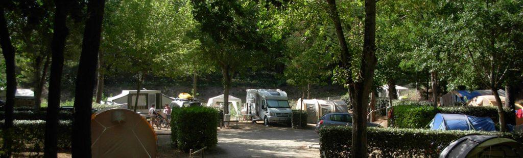 Camping avec emplacements pour caravane à la Tranche sur Mer