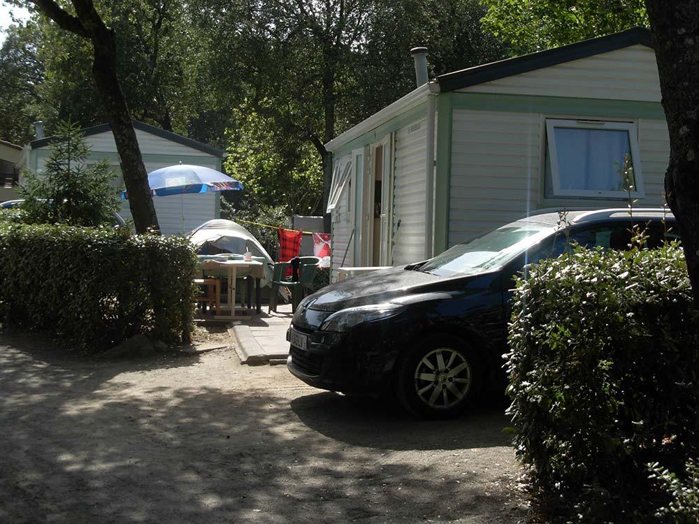 extérieur location mobilhome 4 - 6 personnes Vendée