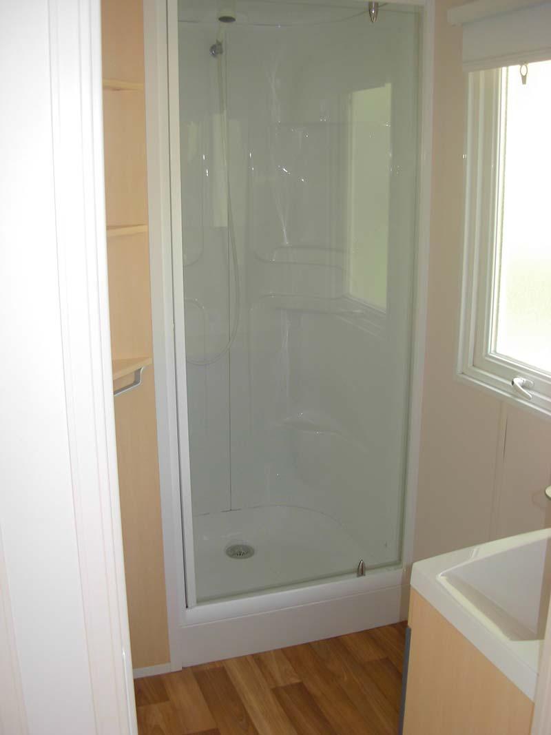 douche location mobilhome 4 - 6 personnes Vendée