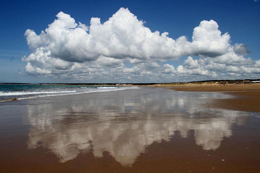 plage des conches longeville sur mer