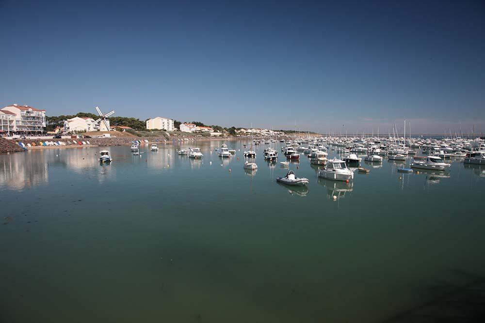 le port de jard sur mer