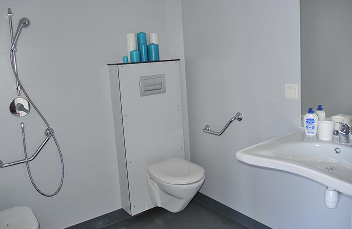 salle de bain location mobilhome PMR Vendée
