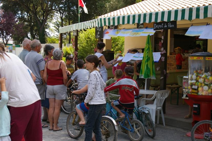 snack-bar Camping les Ramiers Longeville/mer