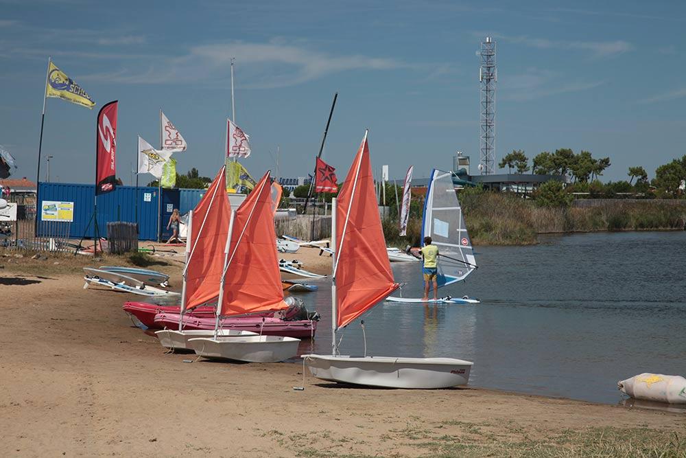 camping à la tranche sur mer
