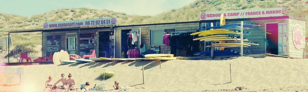 Ecole de surf bud bud
