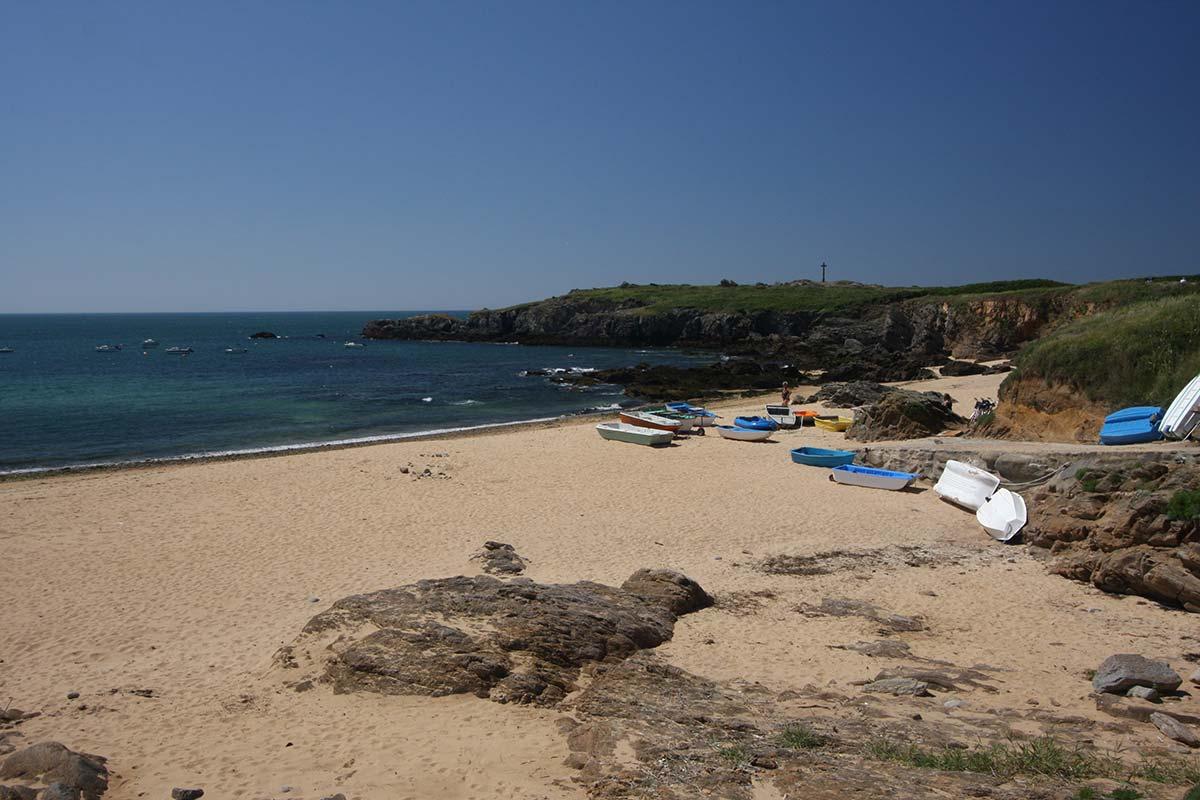 plage de l'ile d'yeu camping les ramiers