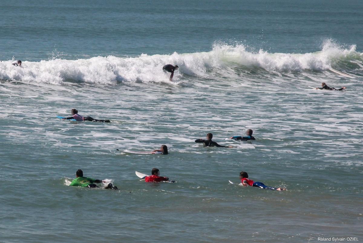 club de surf proche camping