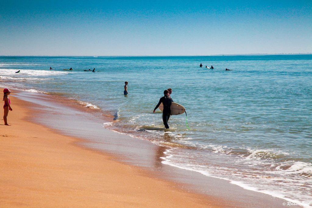 spot de surf proche camping