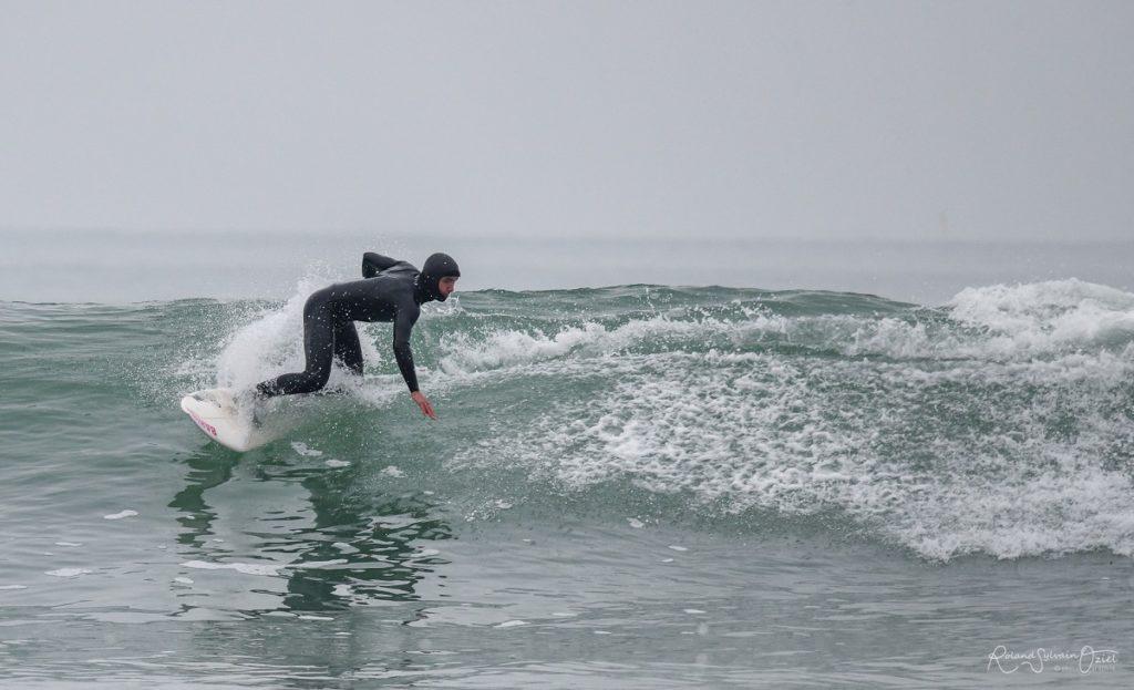 camping avec hébergement proche spot de surf