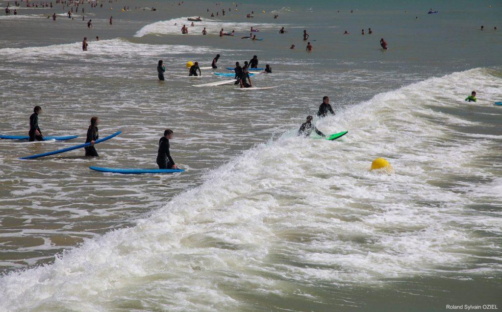 spot de surf la tranche sur Mer