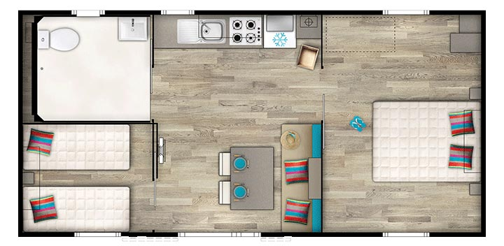 plan mobil home accessible PMR