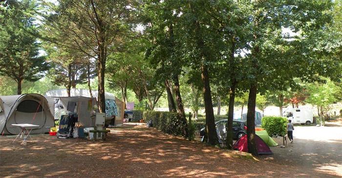 Camping nature proche Vélodyssée