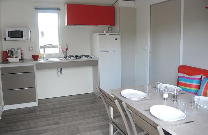 location mobil home accessible PMR du camping en Vendée