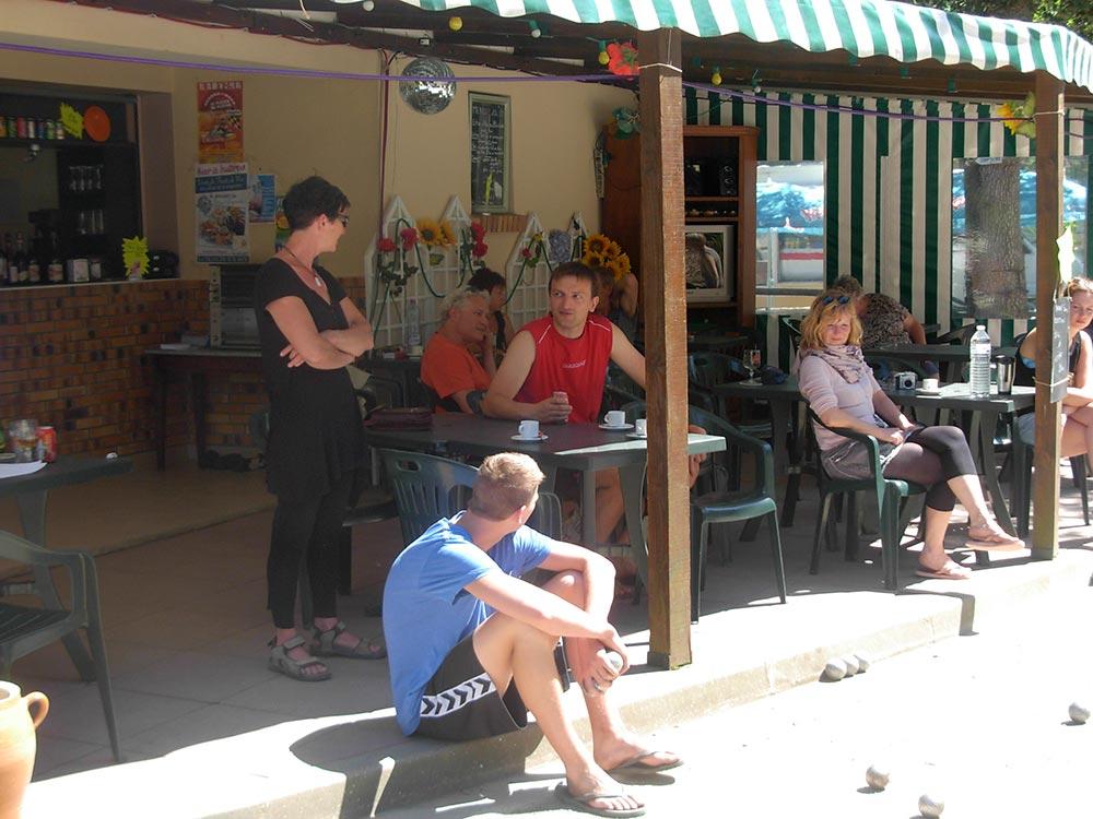 snack-bar du camping en Vendée