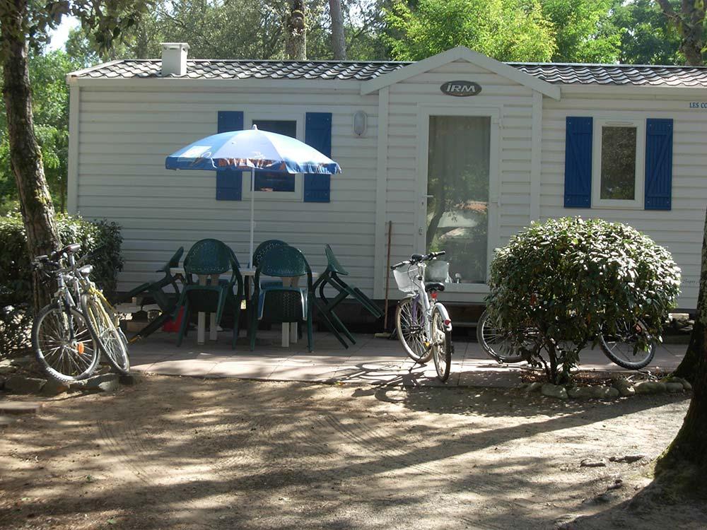 location mobil-home au camping en Vendée