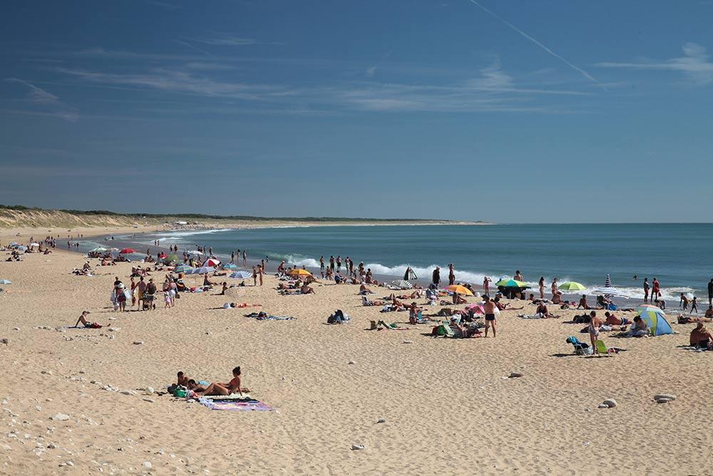 mer proche du camping 2 étoiles en Vendée